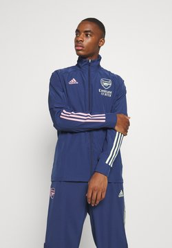 adidas Performance - ARSENAL FC SPORTS FOOTBALL TRACKSUIT JACKET - Article de supporter - blue
