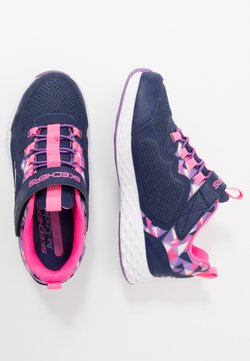Skechers - TREAD LITE - Matalavartiset tennarit - navy/pink