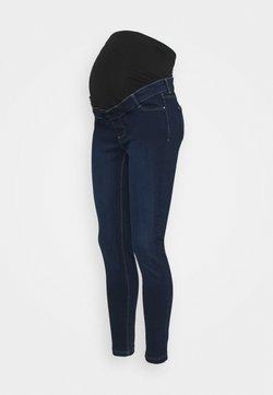 Dorothy Perkins Maternity - OVERBUMP FRANKIE - Jeans Skinny - indigo blue wash