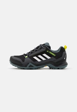 adidas Performance - TERREX AX3 GTX - Hikingschuh - core black/footwear white/acid yelllow