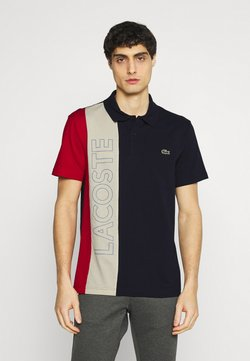 Lacoste - Polo - marine/naturel clair/rouge