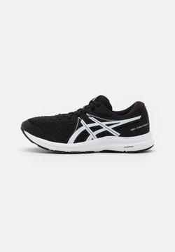 ASICS - GEL CONTEND 7 - Obuwie do biegania treningowe - black/white