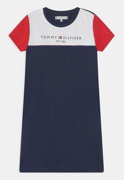 Tommy Hilfiger - COLOURBLOCK DRESS - Jerseykleid - twilight navy