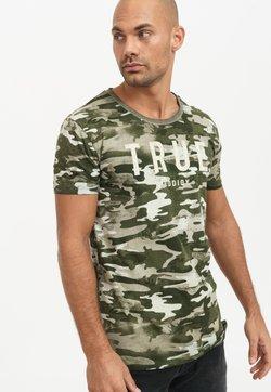 Trueprodigy - T-Shirt print - kaki