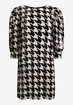 Next - DOGTOOTH SEQUIN  - Cocktailkleid/festliches Kleid - multi-coloured