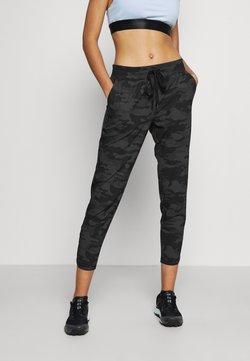 GAP - TAPERED PANT - Pantaloni sportivi - black