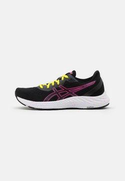 ASICS - GEL EXCITE 8 - Zapatillas de running neutras - black/hot pink