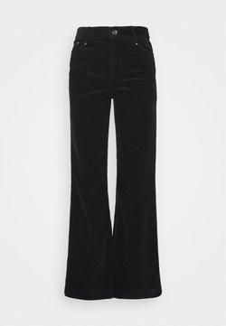 DAY Birger et Mikkelsen - NEW KADIFE - Jeans a sigaretta - black