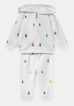 Polo Ralph Lauren - HOOK UP SET - Survêtement - white