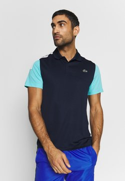 Lacoste Sport - TENNIS - T-shirt de sport - navy blue/haiti blue/white