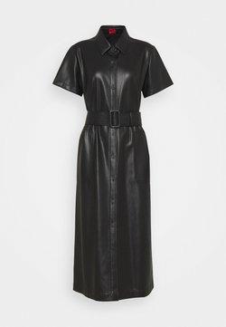 HUGO - KELENI - Vestido camisero - black