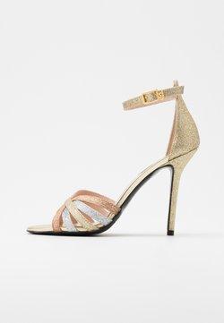 Liu Jo Jeans - NEW BLOOM  - Sandalen met hoge hak - gold