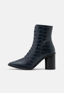 Zign - High Heel Stiefelette - dark blue