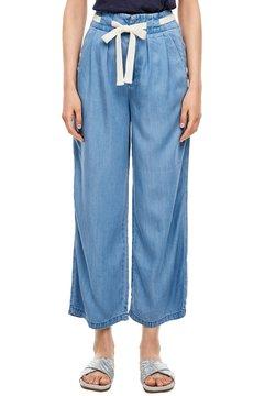s.Oliver - REGULAR FIT: CULOTTE AUS LYOCELL - Jeans Straight Leg - light blue