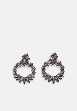 Pieces - PCAKULA EARRINGS - Earrings - silver-coloured/grey