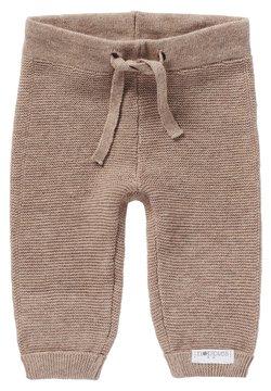 Noppies - GROVER - Pantalones - taupe melange