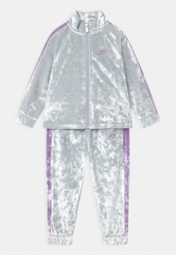 Nike Sportswear - CRUSHED TRACK SET - Survêtement - pure platinum