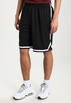 Urban Classics - STRIPES - Jogginghose - black/black/white