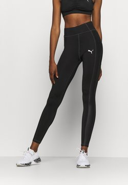 Puma - PAMELA REIF X PUMA HIGH WAIST BLOCK LEGGINGS - Tights - black