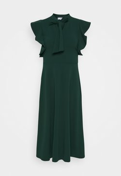 WAL G. - RUFFLE SLEEVE DRESS - Cocktailkleid/festliches Kleid - forest green