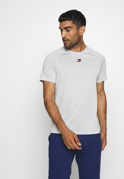 Tommy Hilfiger - CHEST LOGO - T-paita - grey
