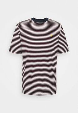 Lyle & Scott - ARCHIVE STRIPE - T-Shirt print - dark navy