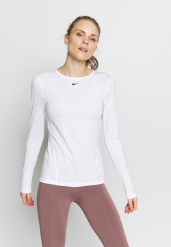 Nike Performance - ALL OVER - Funktionsshirt - white/black