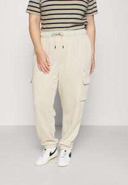 Nike Sportswear - Jogginghose - rattan/white