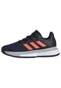 adidas Performance - SOLEMATCH BOUNCE CLAY COURT SHOES - Tennisschoenen voor kleibanen - blue