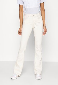 ONLY - ONLBLUSH LIFE - Flared Jeans - ecru