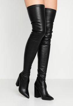 Steve Madden - SOMMER - High heeled boots - black paris