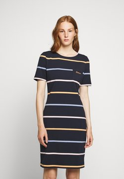 Barbour - STOKEHOLD DRESS - Jerseykleid - navy