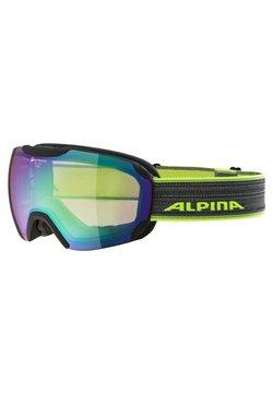 Alpina - Sportbrille - schwarz/neongelb