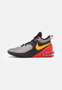 Nike Performance - AIR MAX IMPACT - Zapatillas de baloncesto - enigma stone/camellia/black/chile red