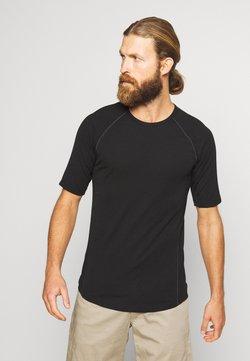 Icebreaker - ZONE CREWE - Camiseta interior - black