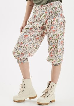 PULZ - JILL WIDE - Shorts - off-white