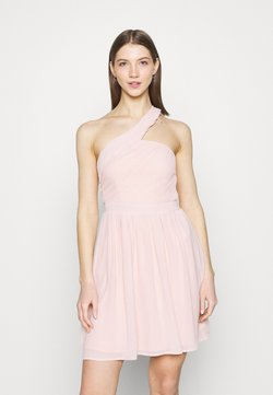 Vila - VIKATELYN ONESHOULDER  DRESS - Vestido de cóctel - rose smoke