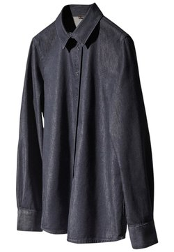 Massimo Dutti - Overhemdblouse - dark blue