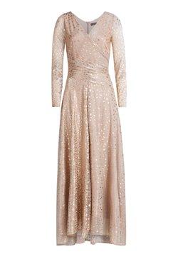 Vera Mont - IM GLITZER-LOOK - Cocktailkleid/festliches Kleid - white/copper
