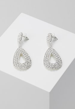 sweet deluxe - DROP EARRINGS - Ohrringe - silber/crystal