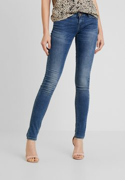 ONLY - ONLCORAL SUPERLOW - Jeans Skinny Fit - dark blue denim