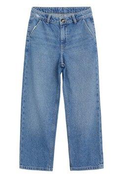 Mango - CULOTTE - Straight leg jeans - lichtblauw