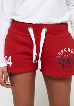Superdry - Szorty - red