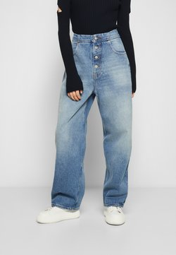 MM6 Maison Margiela - PANTS POCKETS - Jeans relaxed fit - vintage used/blue