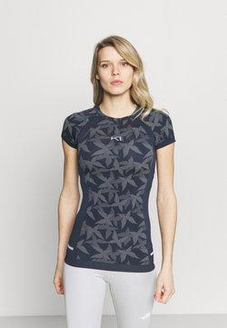 Kari Traa - BUTTERFLY TEE - Camiseta interior - marin