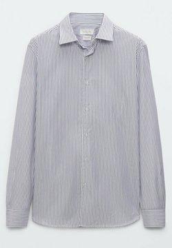 Massimo Dutti - GESTREIFTES SLIM FIT - Businesshemd - blue
