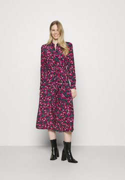 Guess - SELVAGGIA DRESS - Blusenkleid - multi-coloured
