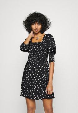 Vero Moda - VMLINEA MINI DRESS - Day dress - black