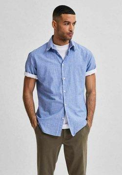 Selected Homme - SLHREGNEW SHIRT CLASSIC - Koszula - dark blue