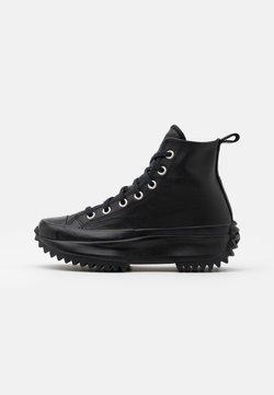 Converse - RUN STAR HIKE UNISEX - Baskets montantes - black